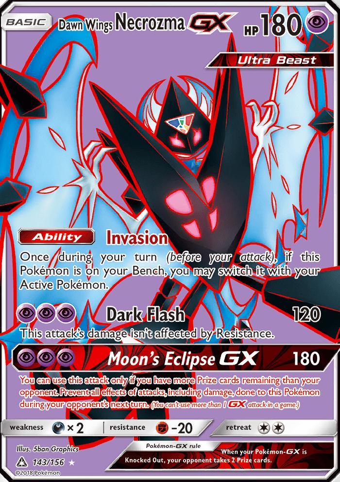 Dawn Wings NecrozmaGX Ultra Prism UPR 143