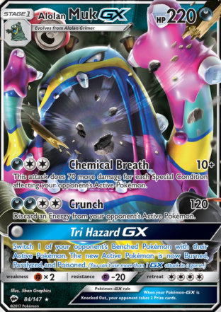 Alolan Muk-GX from Burning Shadows