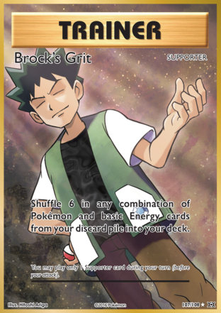 Brock's Grit from Evolutions