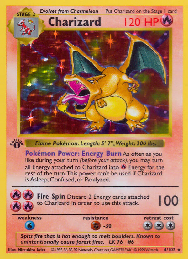 Charizard from Base Set