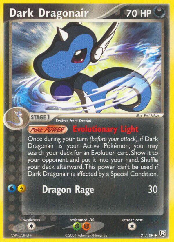Dark Dragonair (Team Rocket Returns RR 31)