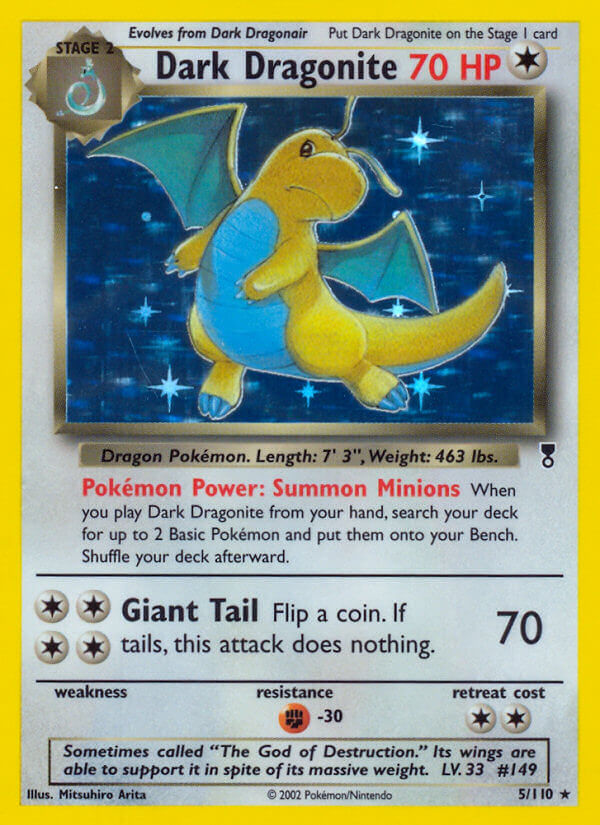 Dark Dragonite (Legendary Collection LC 5)