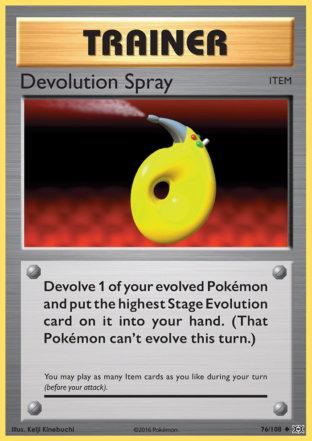 Devolution Spray from Evolutions