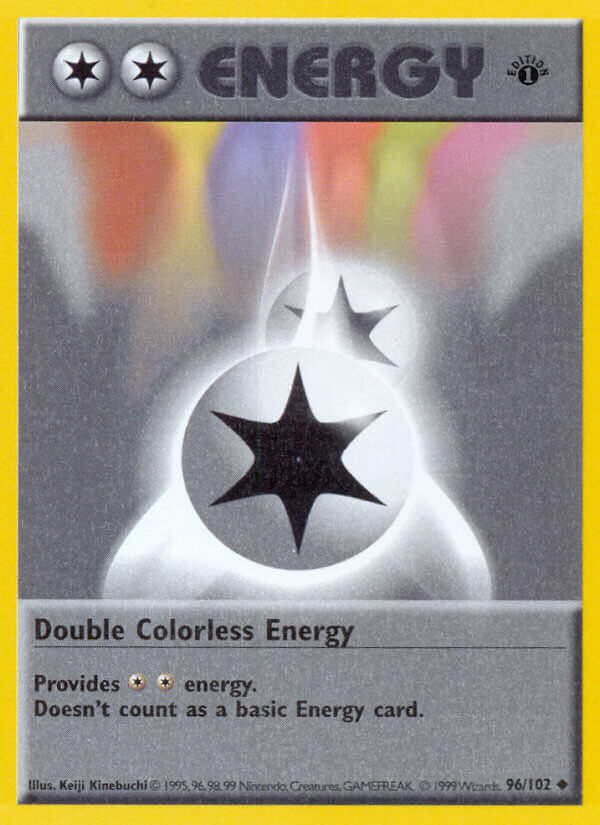 Double Colorless Energy from Base Set