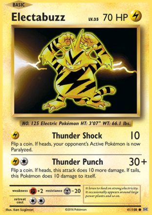 Electabuzz from Evolutions