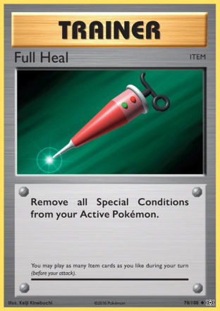 Full Heal from Evolutions