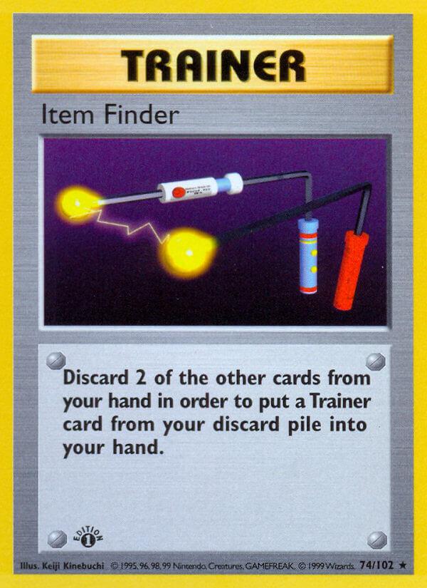 Item Finder from Base Set