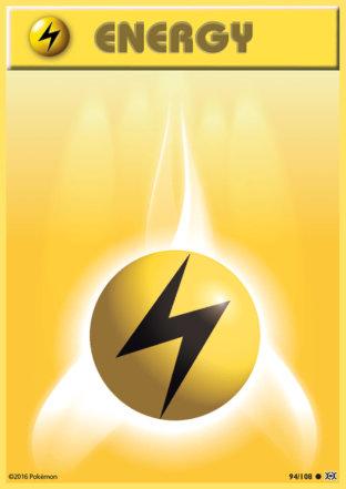 Lightning Energy from Evolutions
