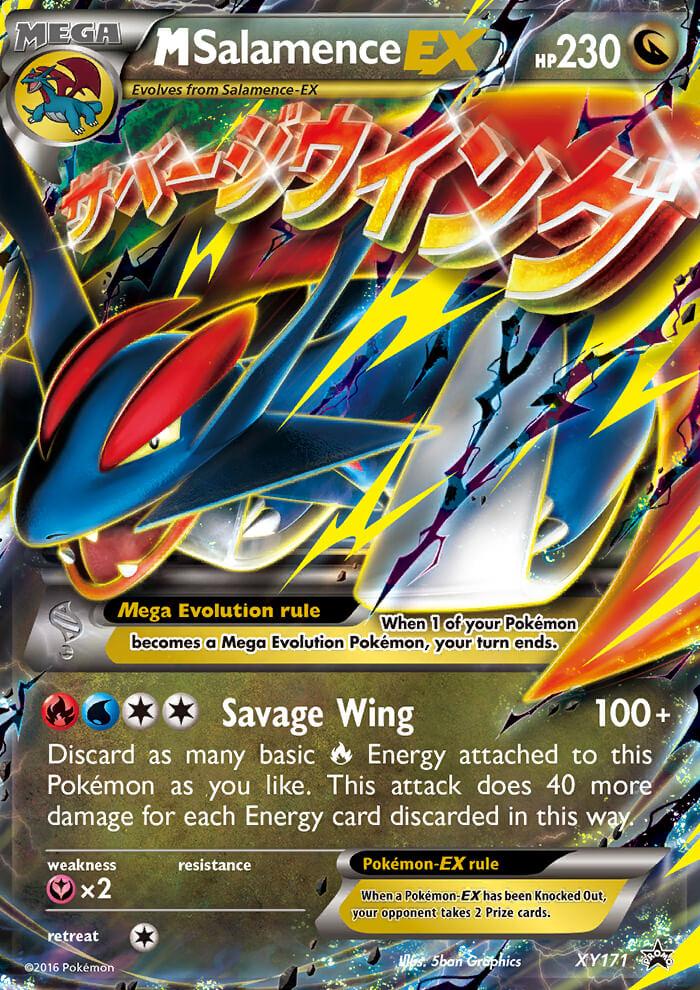 M salamence ex xy promos xy171 pkmncards - Pokemon mega evolution ex ...