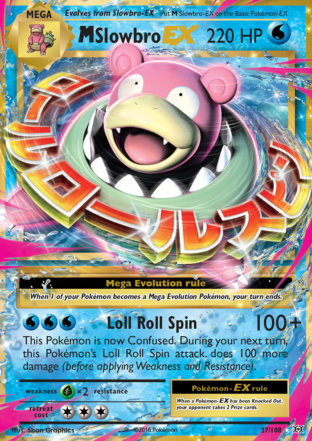M Slowbro-EX from Evolutions