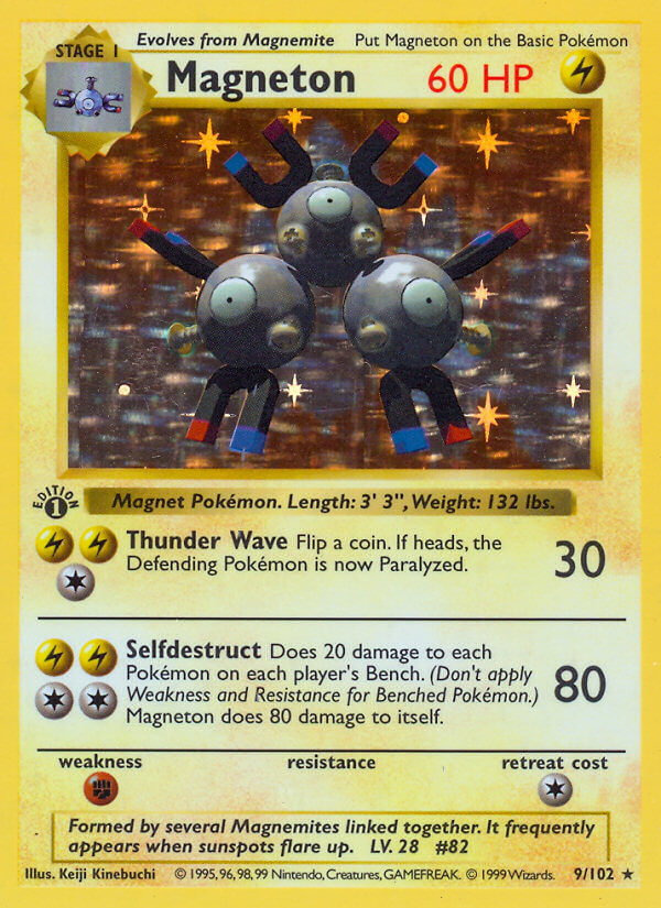 Magneton from Base Set