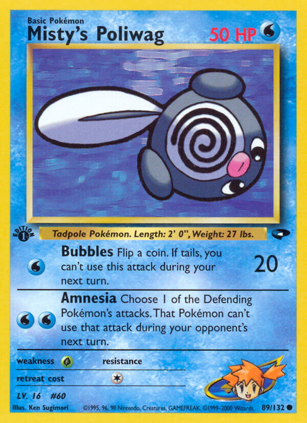 Misty's Poliwag from Gym Challenge