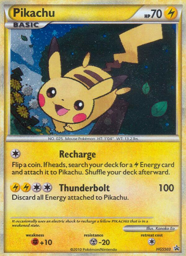 pikachu heartgold soulsilver promos hgss03