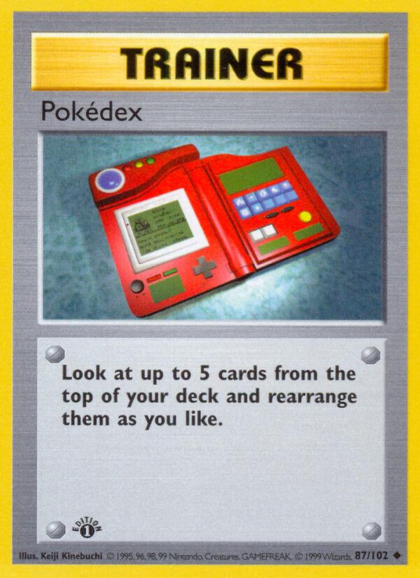 Pokédex from Base Set