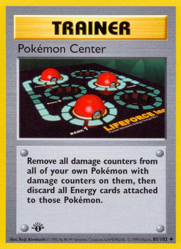 Pokémon Center from Base Set