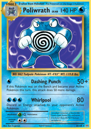 Poliwrath from Evolutions