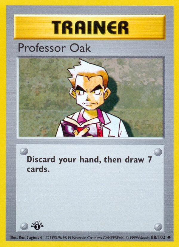 Professor Oak from Base Set