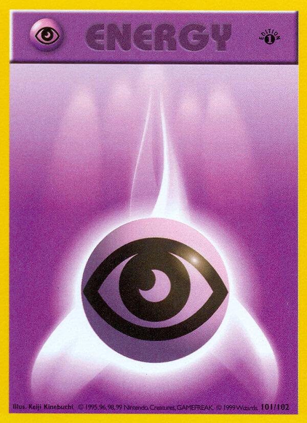 Psychic Energy from Base Set