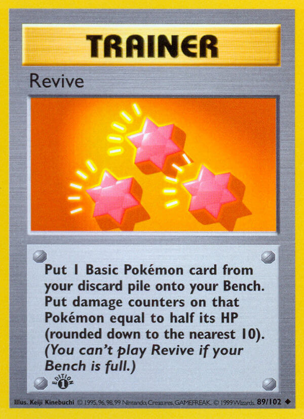 Revive from Base Set