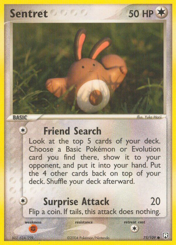 Sentret from Team Rocket Returns