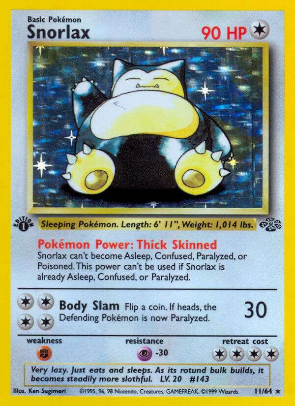 Pokemon TCG Snorlax GX Box Card Game  amazoncom