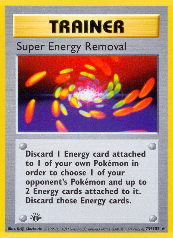 Super Energy Removal from Base Set