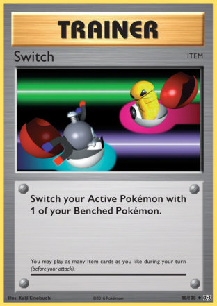 Switch from Evolutions